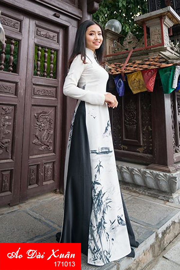 áo dài gầm - 171013