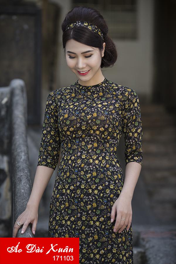 áo dài cô Ba Sài Gòn 171103