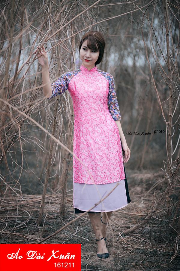 áo dài tơ tằm - 161211