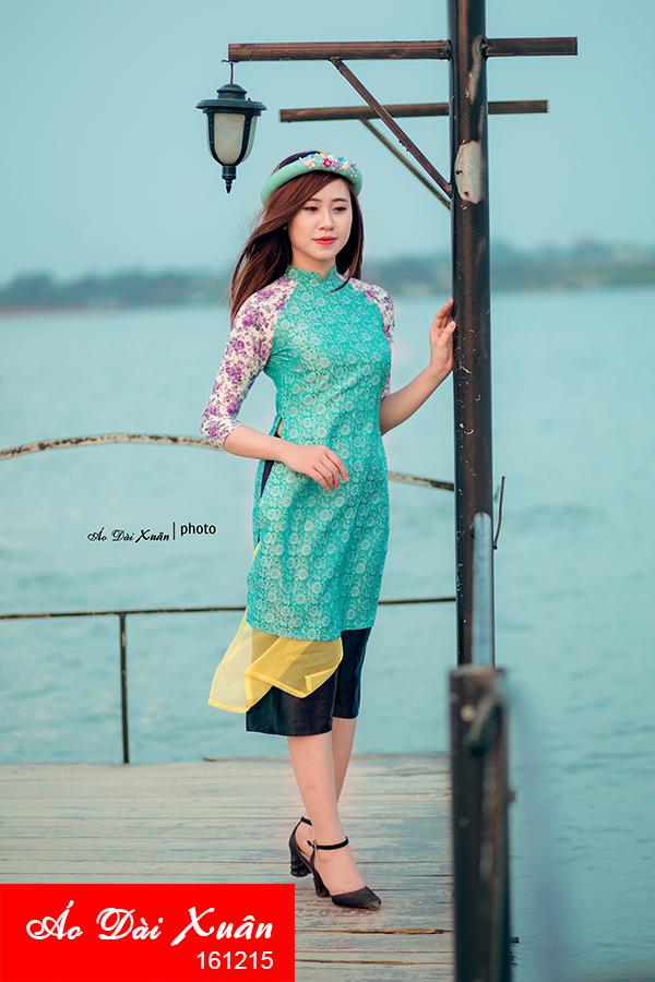 áo dài tơ tằm - 161215