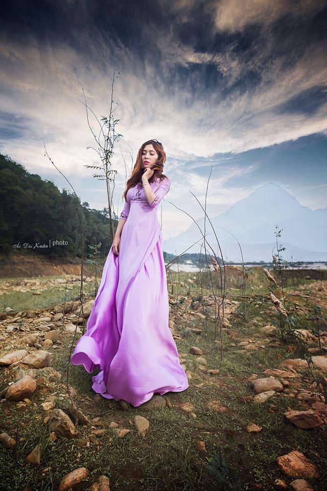 áo dài lụa - 170319
