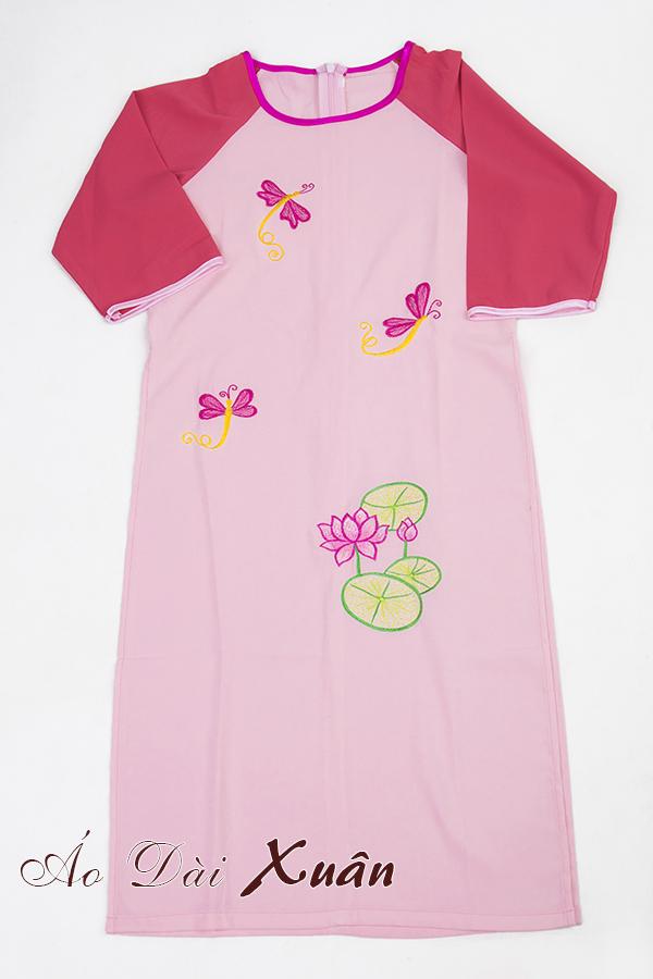 áo dài cho bé - 008