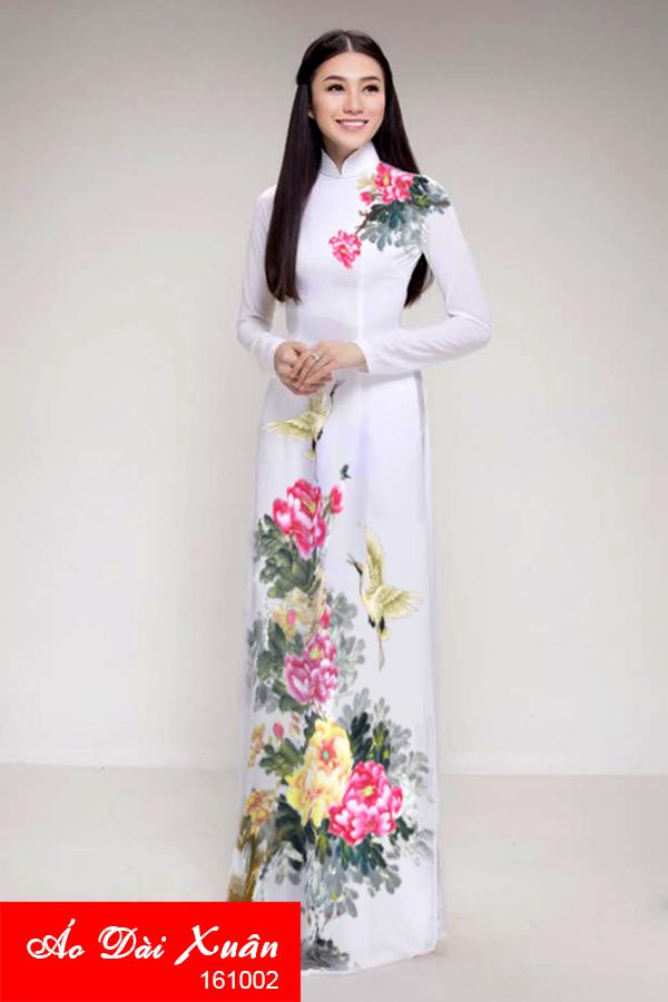 áo dài lụa - 161002